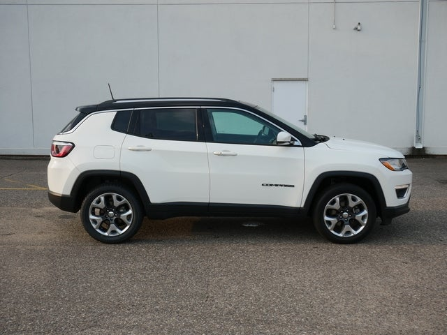 Used 2018 Jeep Compass Limited with VIN 3C4NJDCB3JT354686 for sale in Bloomington, Minnesota