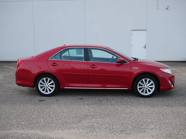 Used 2014 Toyota Camry LE Hybrid with VIN 4T1BD1FKXEU140323 for sale in Bloomington, Minnesota